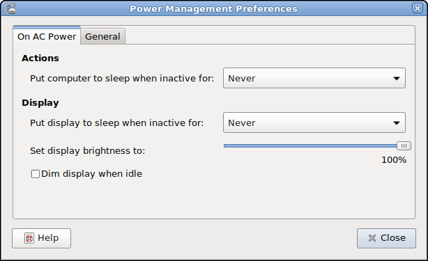 Debian User Forums • View topic - How to keep stretch awake - power
