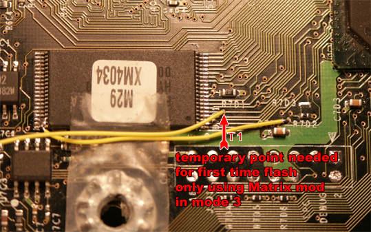 Xbox Mod! Tutorials: Flash TSOP w/ Matrix