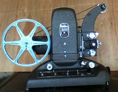 "8mm Bell and Howell Filmo ""Picture Master"" Projector"